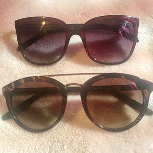 NEW BUNDLE! 2 Pairs of Sunglasses - NWOT